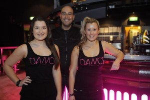 Berwick Springs Hotel employees Danielle Kingston-Yates and Kara Dunkley-Price, here with Nightlife Director Geremy Lucas, are excited for the nightclub's re-launch this weekend under new name 'Dance'.