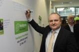 La Trobe MP Jason Wood wrote a tribute message on the wall as he offically opened the Narre Warren Headspace facility last week. 138975 Picture: STEWART CHAMBERS