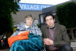 Adrian Karpish and his mother, Robyn, outside the Village Cinemas at Fountain Gate. 141417 Picture: ROB CAREW