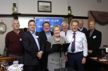 Presidents Steve Shutt, Tim Carswell, Roger McGill, Lyn Pickering, Roger Hall, Phillip McMillan, Ian Pickering and Tim Fisher. 142149
