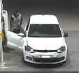 A CCTV image of a man and vehicle believed to be involved in a petrol drive-off in Berwick.